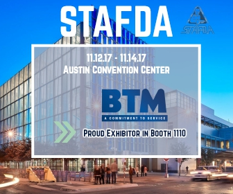 BTM Manufacturing to Exhibit at STAFDA's Annual Convention & Trade Show