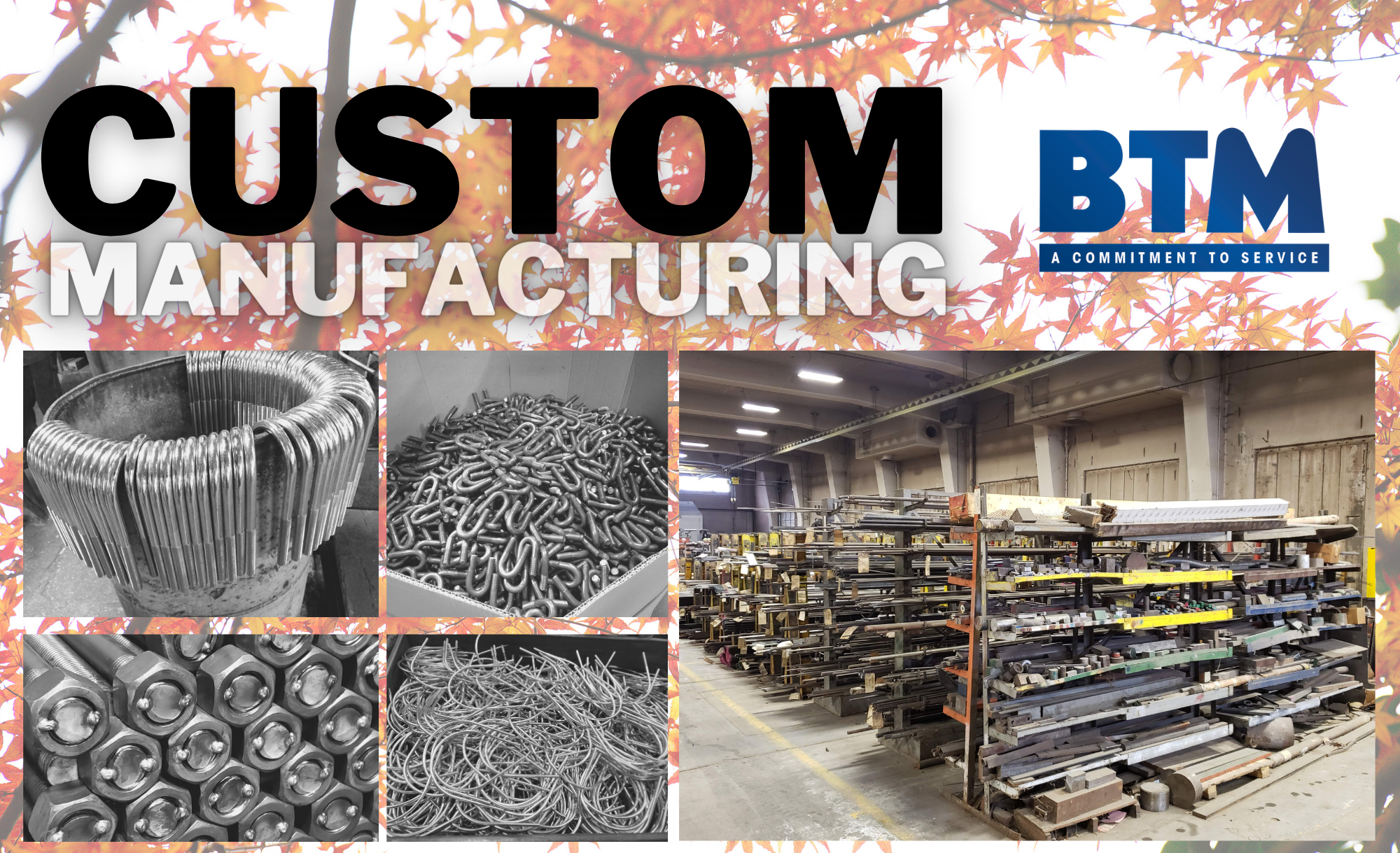 Copy of Custom Manufacturing
