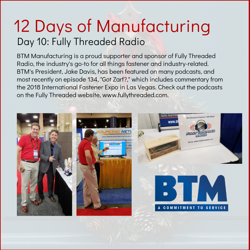 Copy of Day 9 BTM Mfg