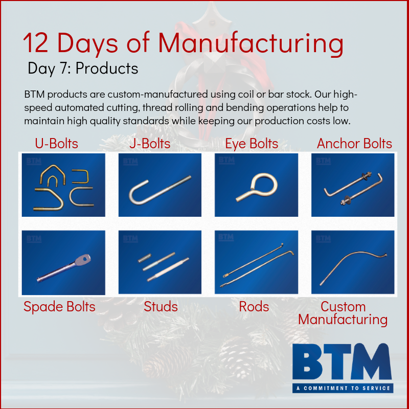 Day 7 of 12 Days of Manufacturing