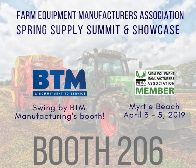 BTM to Exhibit in booth 206 at FEMA