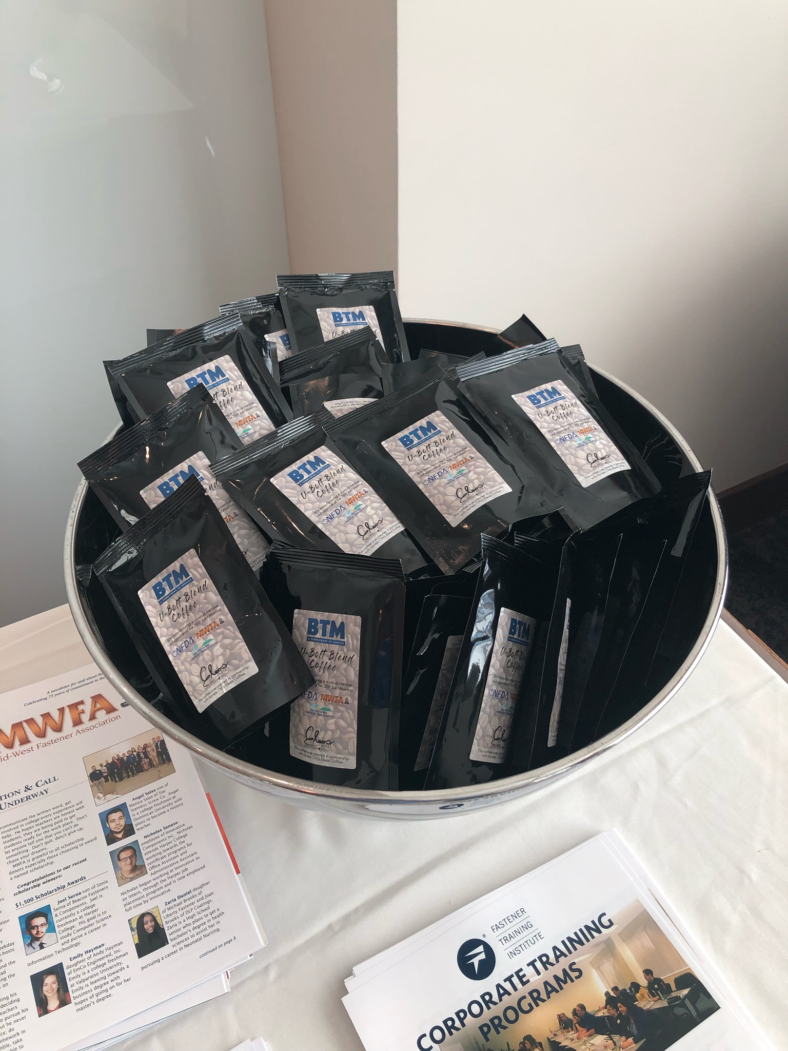 UBolt Blend Coffee Debuts at Joint Conference