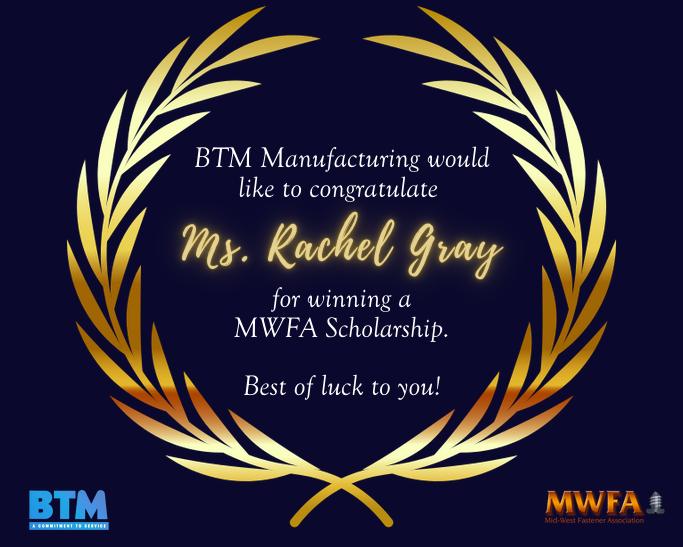 Congratulations to MWFA Scholarship Winners