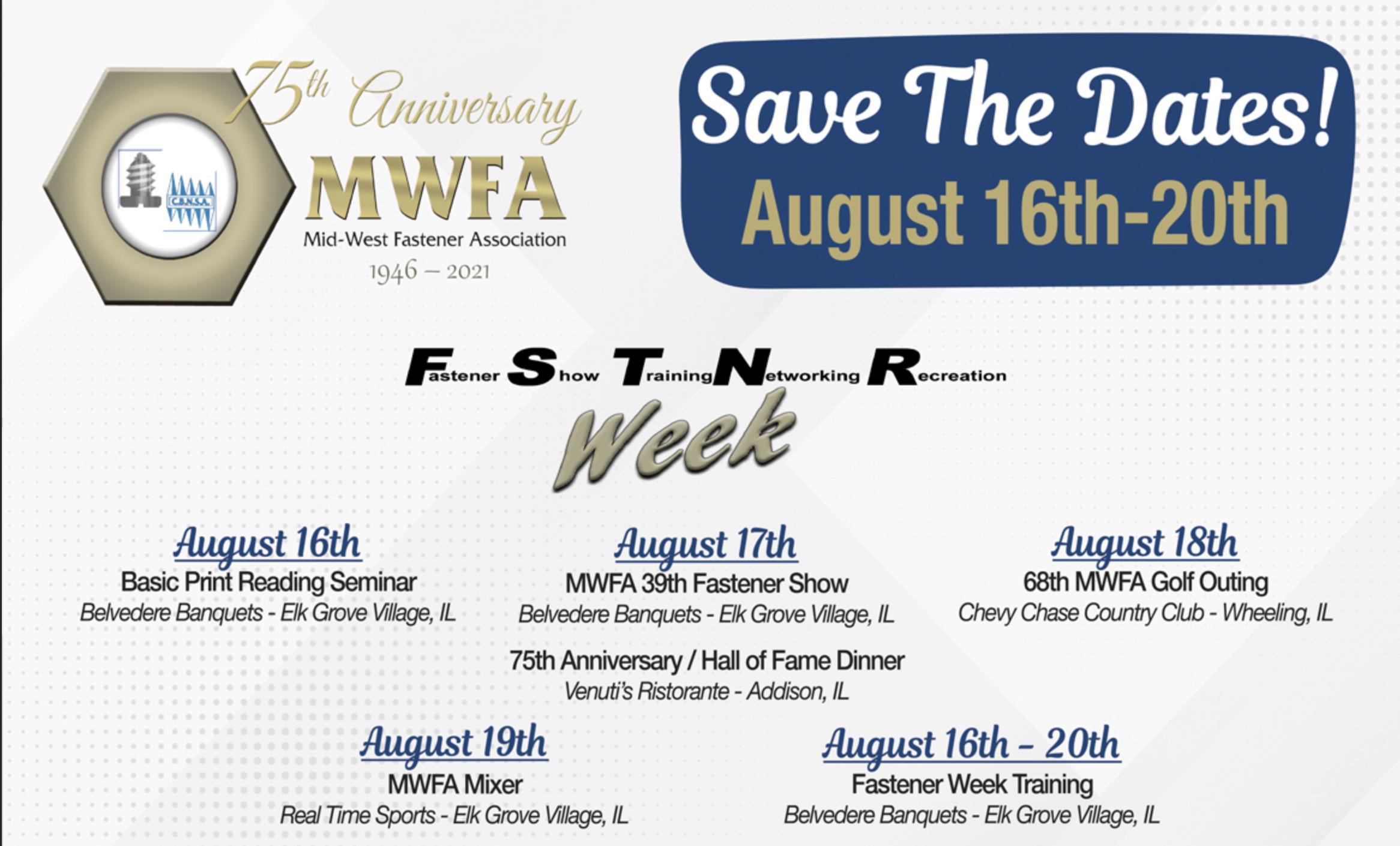 Who's heading to the upcoming MWFA Festivities?