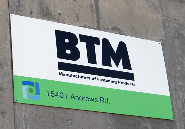 Contact BTM Manufacturing